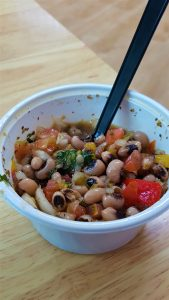 Sprout Seoul Vegan Menu Food Review :  Texas Caviar (Sweet corn and black eyed peas)