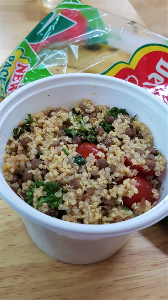 Middle Eastern Summer Salad Food Review of Natural Healthy Vegan Food Subscription Service Sprout Seoul in Korea