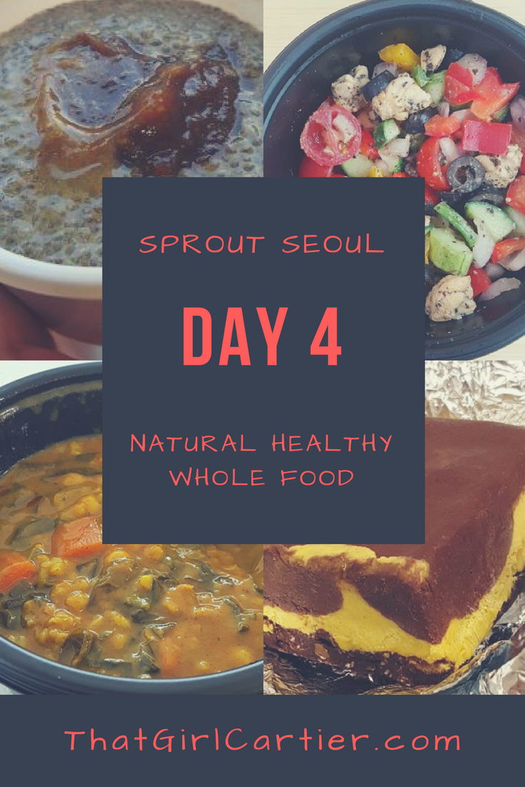 Sprout Seoul Menu Review Day 4