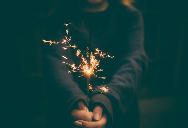 Sparkler, New Years Eve, Toronto, Lifestyle Blog